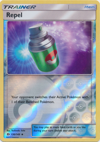 Repel - 130/149 - Uncommon - Reverse Holo