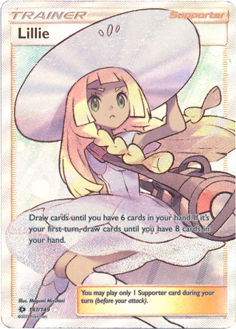 Lillie - 147/149 - Full Art Ultra Rare