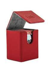 Ultimate Guard - Flip Deck Case 100+ Leatherette Standard Size Red