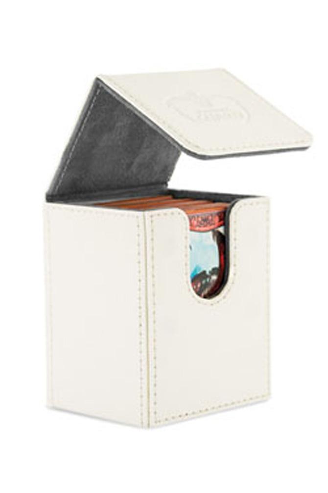 Ultimate Guard - Flip Deck Case 100+ Leatherette Standard Size White