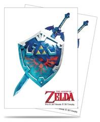 Ultra Pro - The Legend Of Zelda Sword & Shield 65Ct