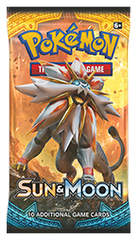 Sun & Moon Booster Pack on Channel Fireball