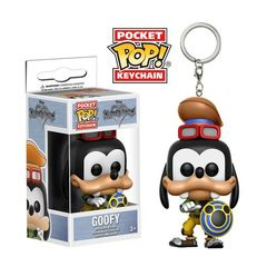 Pocket Pop! Keychain: Disney - Kingdom Hearts - Goofy