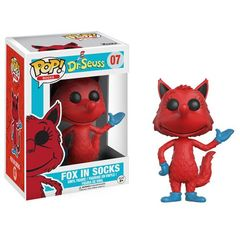 Funko POP -  Books 07: Dr. Seuss - Fox In Socks