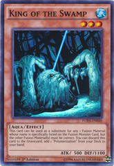 King of the Swamp - FUEN-EN040 - Super Rare - 1st Edition