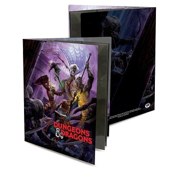 Ultra Pro - Binder D&D Character Folio - Drow Attack