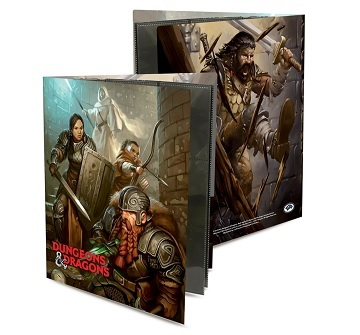 Ultra Pro - Binder D&D Character Folio - Dungeon Crawl