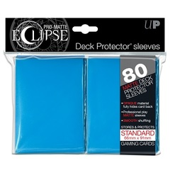 Ultra Pro - Pro Matte Eclipse: Deck Protector 80 Count Pack - Light Blue