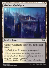 Orzhov Guildgate - Foil on Channel Fireball