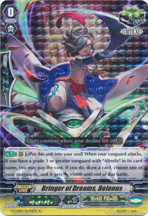 Bringer of Dreams, Belenus - G-BT09/Re:03EN - RRR