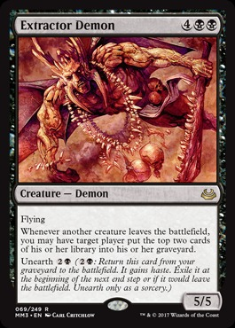 Extractor Demon - Foil