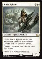 Blade Splicer - Foil on Channel Fireball