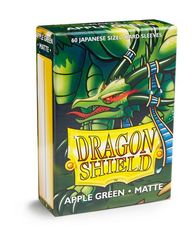 Dragon Shield Matte Small Sleeves - Apple Green (60 ct)