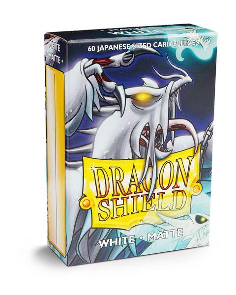Dragon Shield Matte - Japanese size - White - 60 ct