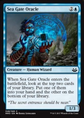 Sea Gate Oracle - Foil