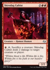Skirsdag Cultist - Foil on Channel Fireball