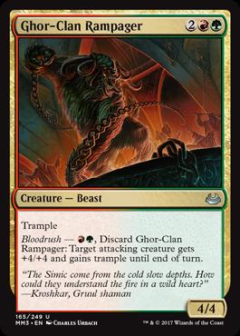 Ghor-Clan Rampager - Foil
