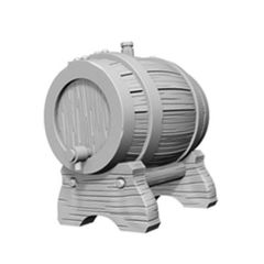 Deep Cuts Unpainted Miniatures - Keg Barrels