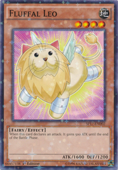 Fluffal Leo - SP17-EN002 - Starfoil Rare - 1st Edition on Channel Fireball