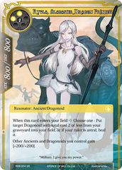 Ryula, Alabaster Dragon Princess - RDE-004 - SR - Foil