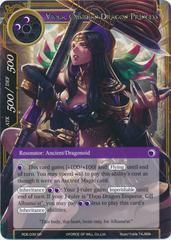 Viola, Obsidian Dragon Princess - RDE-039 - SR - Foil
