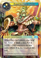 Alabaster Dragon Knight - RDE-041 - C - Foil on Channel Fireball