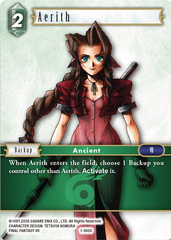 Aerith - 1-065C - Foil on Channel Fireball