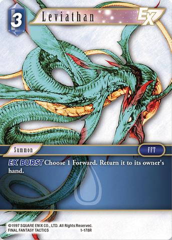 Leviathan - 1-178R - Foil