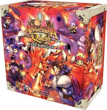 Arcadia Quest Fire Dragon