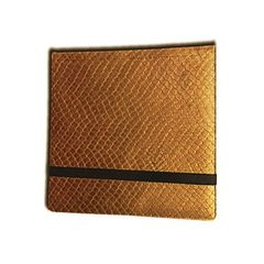 Legion 12 Pocket Dragon Hide Binder: Gold
