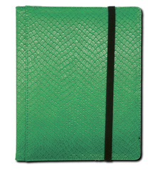 Legion 4 Pocket Dragon Hide Binder:  Green