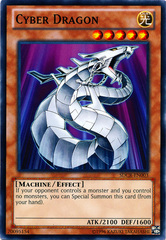 Cyber Dragon (White) - SDCR-EN003 - Common - Unlimited Edition