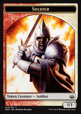 Soldier Token (19/21)