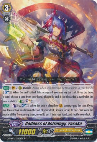 Goddess of Astrology, Yasaka - G-CHB02/023EN - R