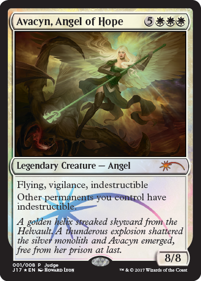Avacyn, Angel of Hope - Foil DCI Judge Promo
