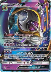 Lunala GX - SM17 - Legends of Alola Tin - SM Black Star Promo on Channel Fireball