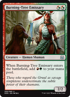 Burning-Tree Emissary