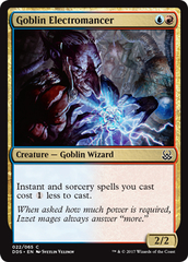 Goblin Electromancer on Channel Fireball