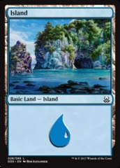 Island (28) on Channel Fireball