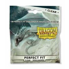 Clear - Standard Perfect Fit Side Load Sleeves (Dragon Shield) - 100 ct