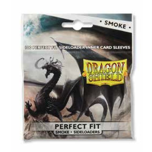 Dragon Shield Perfect Fit Side Load Standard Sleeves - Smoke (100ct)