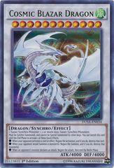 Cosmic Blazar Dragon - DUSA-EN034 - Ultra Rare - 1st Edition on Channel Fireball