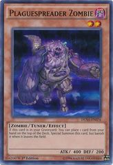 Plaguespreader Zombie - DUSA-EN076 - Ultra Rare - 1st Edition on Channel Fireball