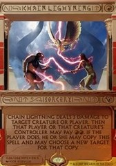 Chain Lightning - Foil (Amonkhet Invocation)