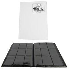 Monster - Mega Monster Binder: 9 Pocket - Matte White