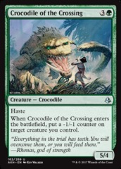 Crocodile of the Crossing - Foil
