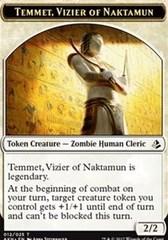Token - Temmet, Vizier of Naktamun