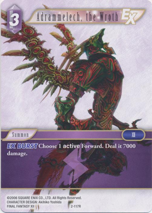 Adrammelech, the Wroth - 2-117R - Foil