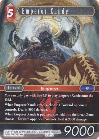 Emperor Xande - 2-007L - Foil
