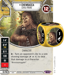 Chewbacca - Loyal Friend (Sold with matching die)